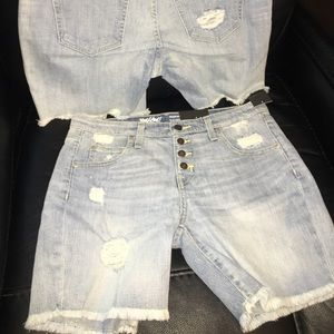 Mossimo new with tags lowrise boyfriend shorts